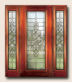 Manchester Beveled Glass Door